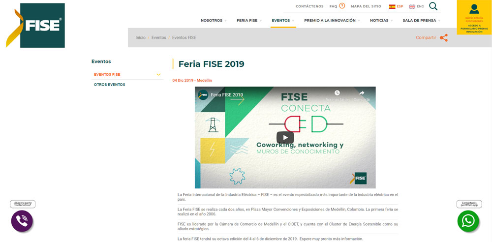GH CRANES & COMPONENTS at the Fise 2019 fair