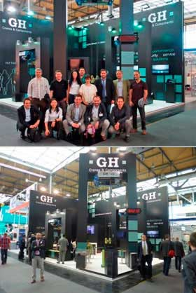 CeMAT 2014 exhibition in Hannover